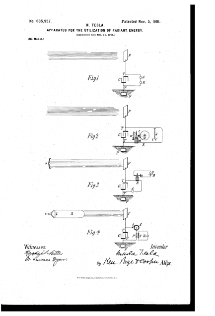 apparatus for the utilization of radiant energy